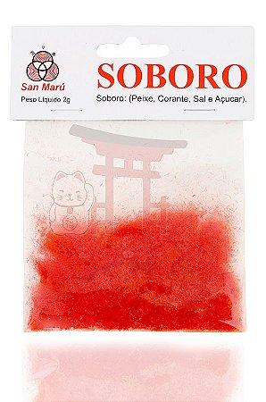 Soborô (peixe usado para decorar pratos japoneses) San Marú 2 g