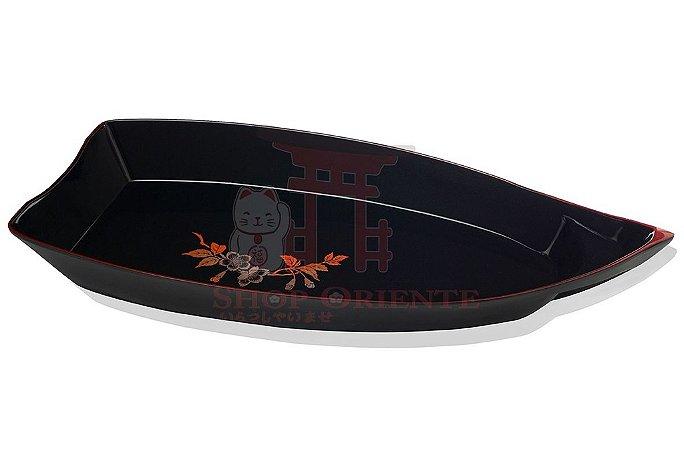 Barco Grande para Sushi e Sashimi (Obune) Sakura