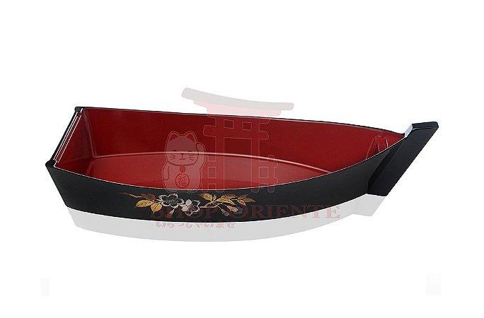 Barco Pequeno para Sushi e Sashimi (Kobune) Sakura