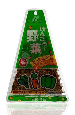 Furikake (Tempero para Arroz) sabor Kenko Yasai - Urashima 36 g