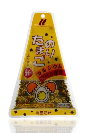 Furikake (Tempero para Arroz) sabor Nori Tamago - Urashima 40 g
