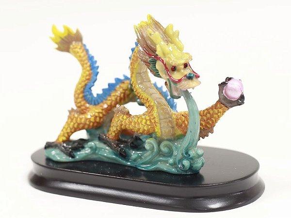 Dragão Decorativo Colorido 9 cm (B)