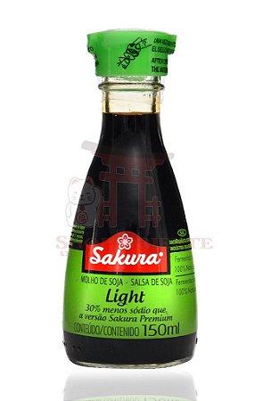 Molho de Soja (Shoyu) Light - Sakura 150 ml