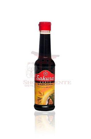 Molho de Soja (Shoyu) Tradicional - Sakura 150 ml