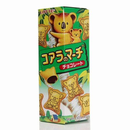 Biscoito Koala sabor Chocolate - Lotte 41 g