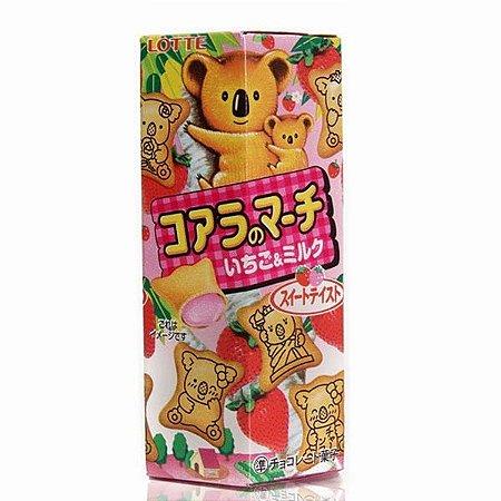 Biscoito Koala sabor Morango - Lotte 48 g
