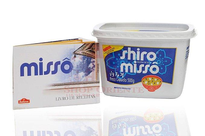 Missô (Massa de Soja) Shiro Missô - Sakura 500 g
