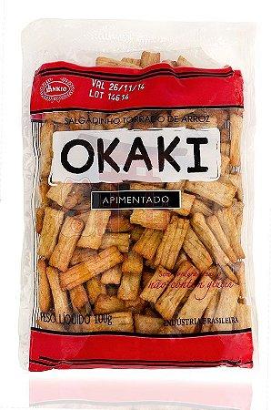 Salgadinho de Arroz (Okaki) sabor Apimentado - Sankio 100 g