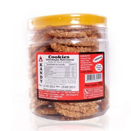Cookies de Amendoim - Kandy 250 g