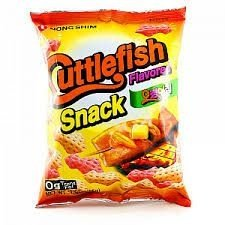 Salgadinho de Lula (Cuttlefish Snack) 55 g - Nong Shim