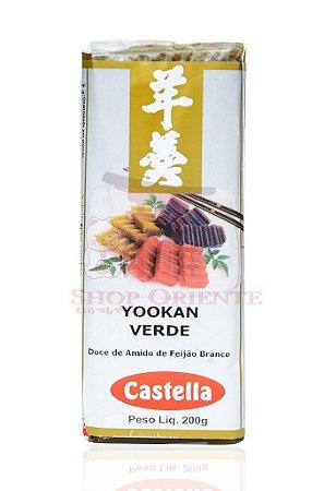 Yookan Verde (Doce de Feijão com Alga Marinha) - Castella 200 g