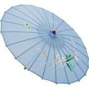 Sombrinha Oriental Grande - Azul