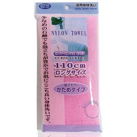 Toalha de Banho de Nylon na cor Rosa - Seiwa Pro