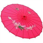 Sombrinha Oriental Pequena - Pink