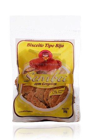 Biscoito Sembei com Gergelim 50 g