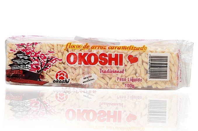 Flocos de Arroz Caramelizado OKOSHI 100 g