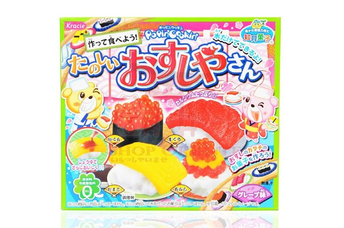 Preparo para Doce - Tanoshii Osushiya San - Kracie 28,5 g