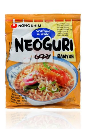 Macarrão Instantâneo sabor Frutos do Mar Suave - NongShim 100 g