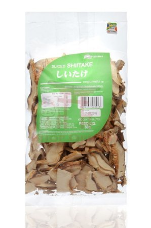 Cogumelo Desidratado Shitake Fatiado 50 g