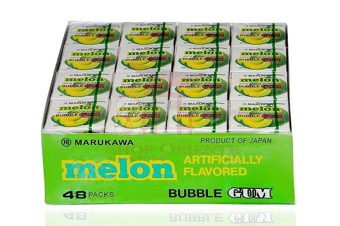 Chiclete (Bubble Gum) sabor Melão - Marukawa 48 unidades