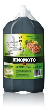 Molho de Soja (Shoyu) Tradicional - Hinomoto 5 litros