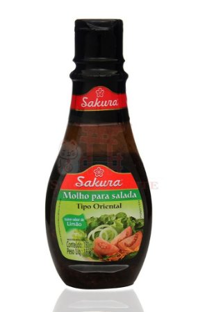 Molho para Salada tipo Oriental - Sakura 180 ml