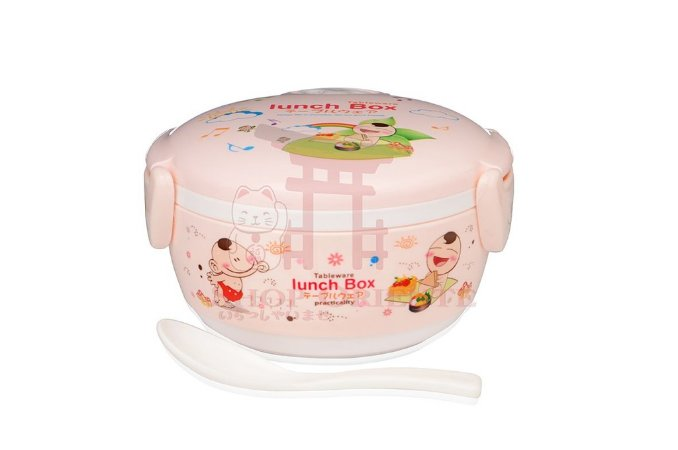 Lunch Box com Tampa Rosa (211)
