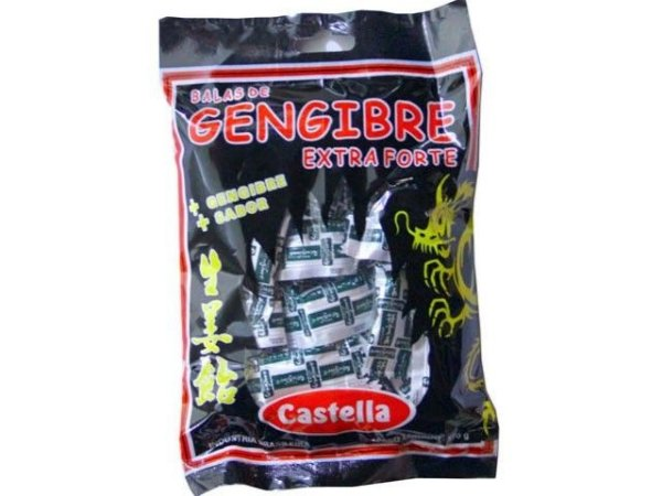 Bala de Gengibre Extraforte 60g