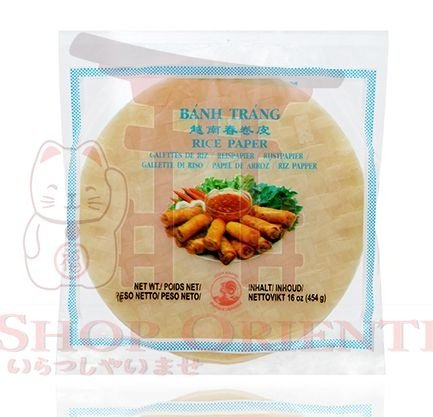 Folha de Arroz (Rice Paper- Papel de Arroz) - 340g