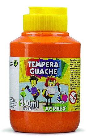 Tempera Guache 250 ml, Acrilex Laranja