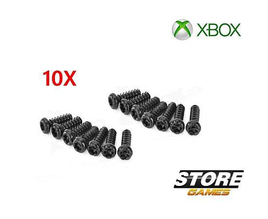 Parafuso Controle Xbox360 Xbox One Torx T8 Com Furo 10un