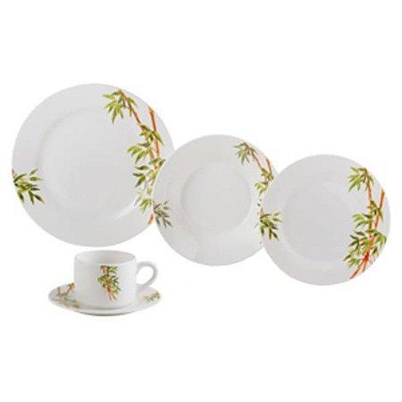 Conjunto de Jantar Porcelana Tropicalis 20 Peças