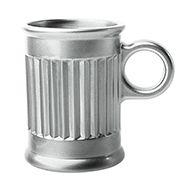 Jogo de 6 Xícaras Café 85ml Prata