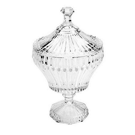 Bomboniere de Cristal Renaissance 17,5 x 28 cm