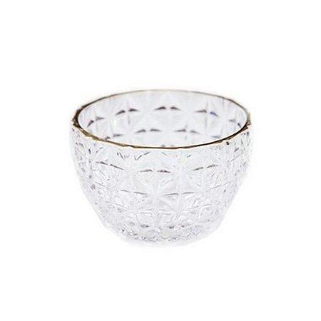 Mini Vaso Decorativo de Vidro 10,5x7 cm
