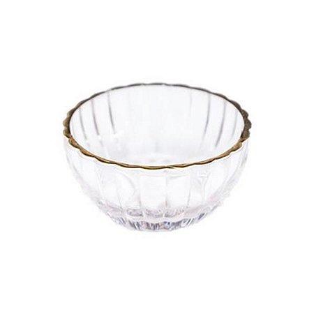 Mini Vaso Decorativo de Vidro 8x8x4 cm