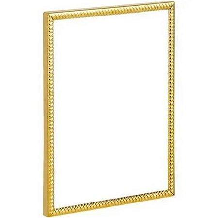 Porta Retrato Dourado 20x15