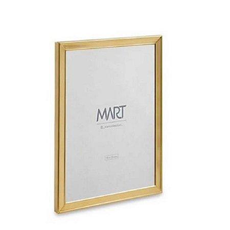 Porta Retrato Dourado e Metal - 10X15