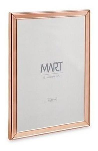 Porta Retrato Rose Gold em Metal - 15X20