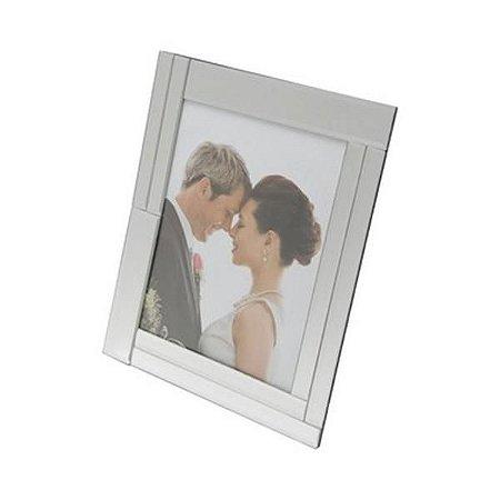 Porta Retrato Vidro Espelhado 15x20cm