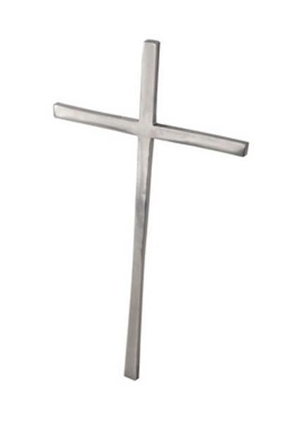 Crucifixo em Alumínio Fundido 39 X 22 X 1cm