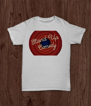Camiseta Stand Up Comedy