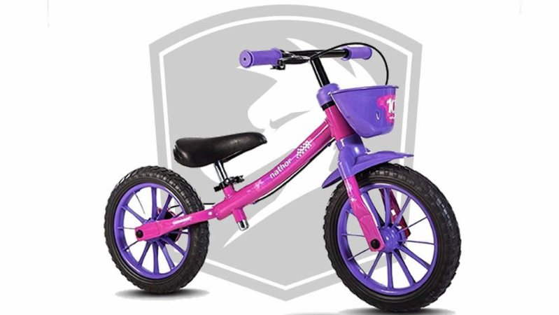 Bicicleta Infantil Nathor Balance Bike
