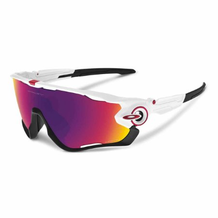 Óculos Oakley Jawbreaker Polished White Prizm Road