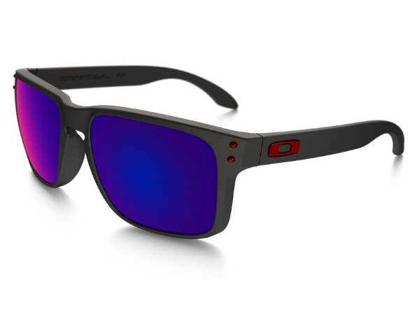 Óculos Oakley Holbrook Matte Black Positive Red Iridium