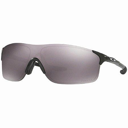 Óculos Oakley Evzero PIth Sapphire Polished Black Prizm Daily Polarizado
