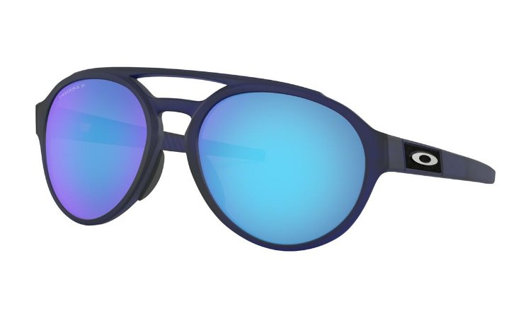 Óculos Oakley Forager Matte Translucent Blue Prizm Sapphire Polarizado