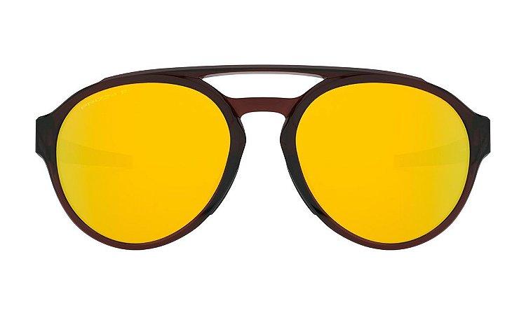 Óculos Oakley Forager Polished Rootbee Prizm 24k Polarizado
