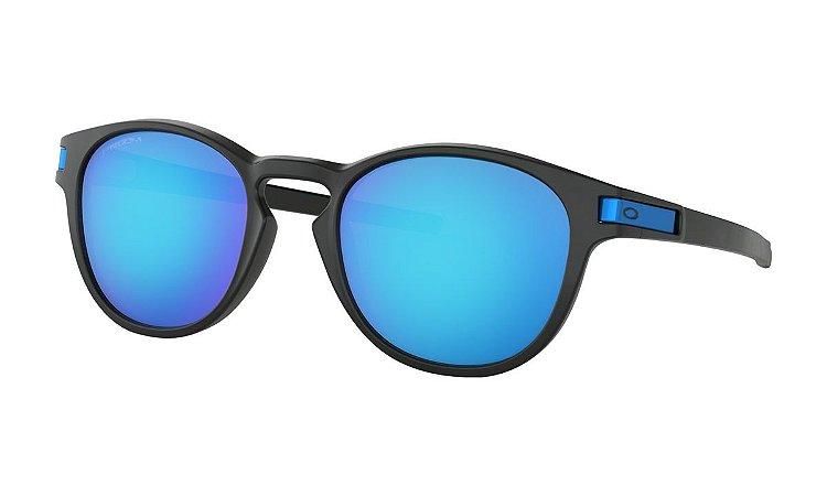 Óculos Oakley Lacht Matte Black Prizm Sapphire