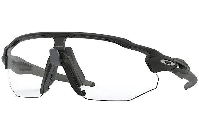 Óculos de Sol Oakley Radar Ev Advancer Matte Black Clear Black Photochromic oo944206